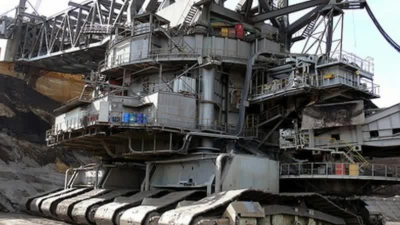 Самый большой в мире экскаватор Монстр Bagger 288 огромный роторный экскаватор