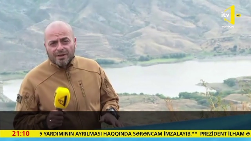 İctimai Televiziyanın çəkiliş qrupu Qaraqaya yüksəkliyində olub
