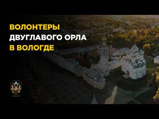"""Волонтеры """"Двуглавого Орла"""" в Вологде: ежедневная помощь на самоизоляции"""