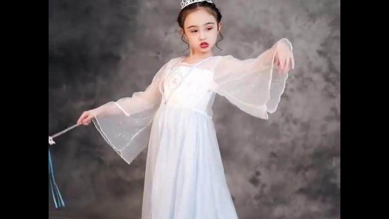 Платье принцессы для девочек карнавальные вечерние костюмы эльзы снежной королевы 2 дня рождения 2020 белая одежда для