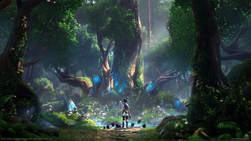 Kena Bridge of Spirits Trailer PS5