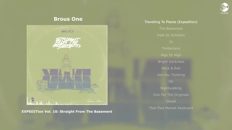 Brous One - EXPEDITion Vol. 10: Straight from the Basement (2016)