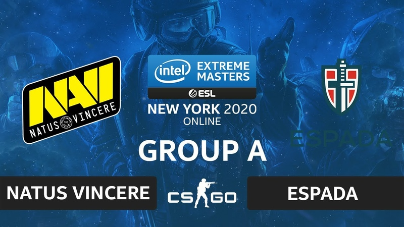 CSGO - Natus Vincere vs Espada [Mirage] Map 1 - IEM New York 2020 - Group A - CIS