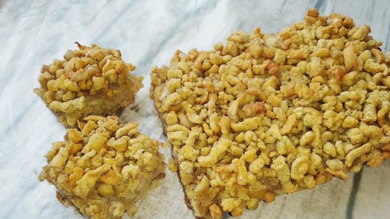 Тертый пирог без яиц без глютена Grated pie without eggs gluten free