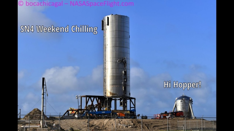 SpaceX Boca Chica - Checking in on Starship SN4