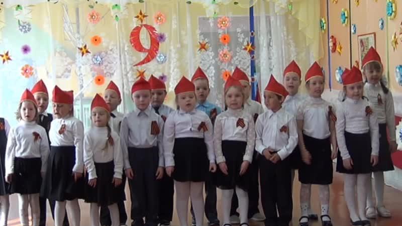 День Победы 2019 МДОУ Детский сад Оз тусь с.Нижний Воч