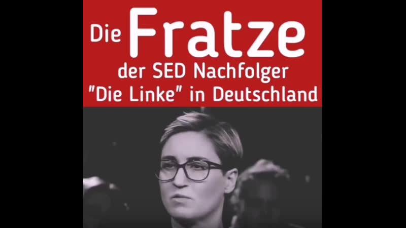 Die Fratze der SED Nachfolger Die Linke in Deutschland