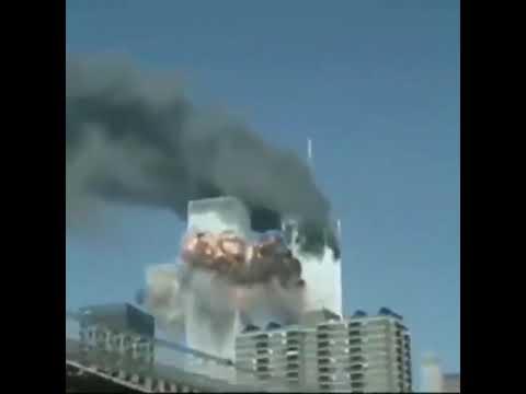 11.09.2001 Anschlag auf Twin Towers wurden Flugzeuge live in die Übertragung mit CGI reinmontiert