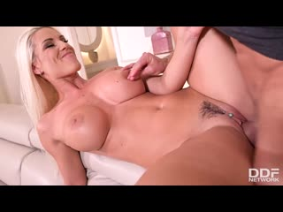 Blanche Bradburry - Busty Milf Fucked Deep In Ass And Pussy (Anal MILF Big Tits Blonde Blowjob Gonzo Hardcore)