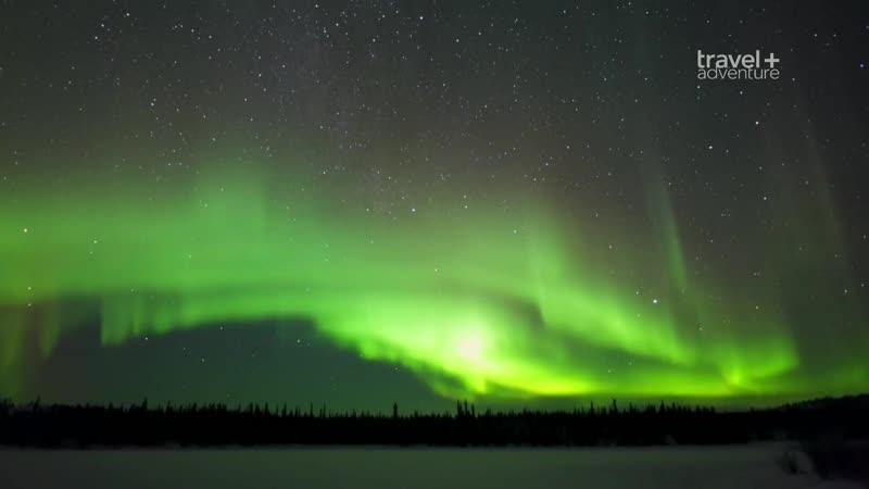 Астротуризм. Поиски северного сияния в Канаде (2017) HD 1080