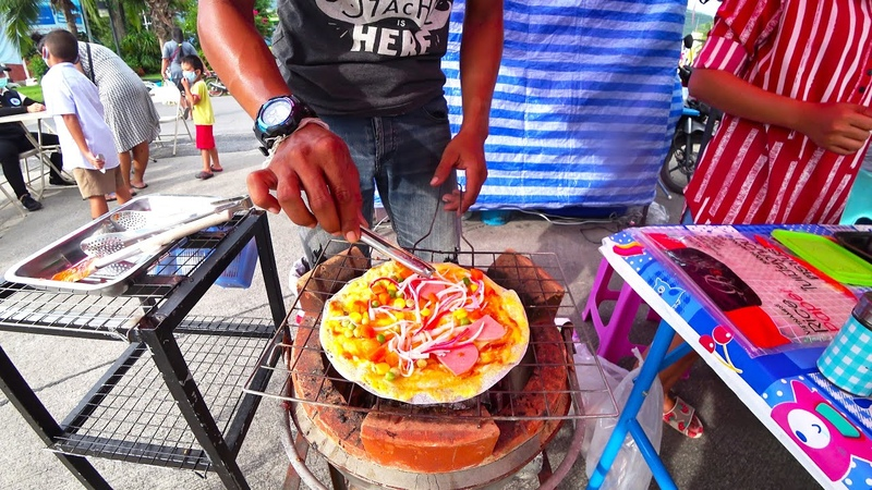 Koh Samui Street FOOD in Thailand Food review 2020 Night Market Nathon Town