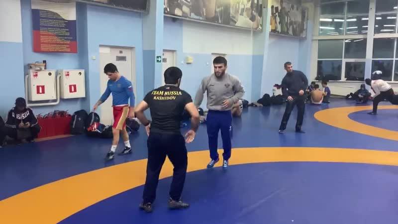 Ахмед Чакаев и Гаджимурад Рашидов в преддверии финала