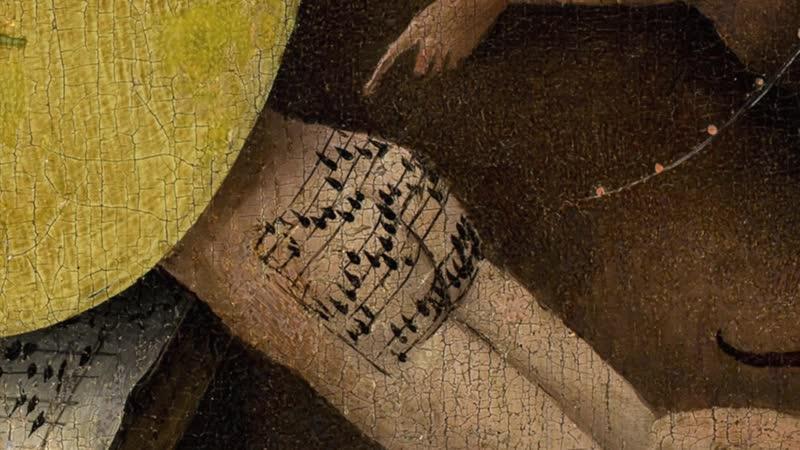 Музыка из картины Босха Сад земных наслаждений