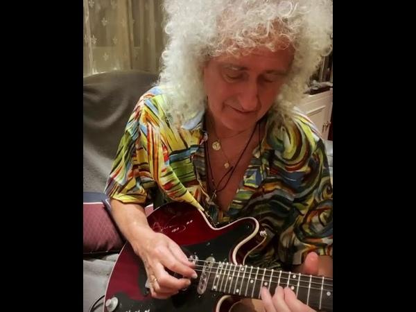 Brian may in my living room 18 Mar 2020 n