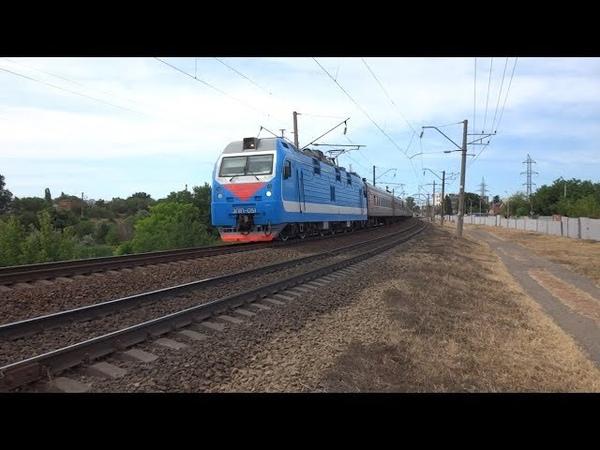 ЭП1П 051 с поездом №273 Северобайкальск Адлер