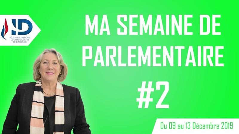 Ma semaine de parlementaire 2