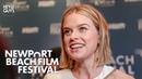 Alice Eve on Belgravia Julian Fellowes Downton Abbey follow up Newport Beach Film Festival