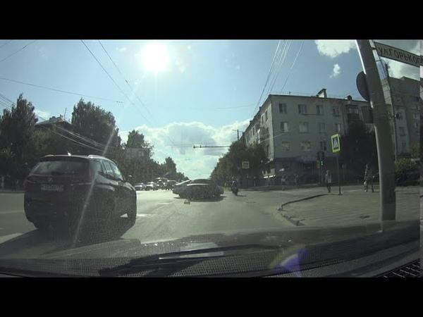 ДТП Киров Воровского Горького 4 августа 2020