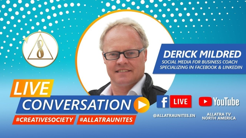 Live Broadcast with Derick Mildred on Creative Society