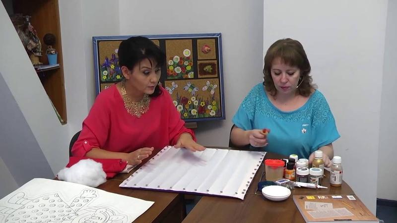 Мастер-класс по созданию игрушки-подушки в технике холодного батика. Антонина ПЛЕСКАЧ
