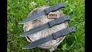 Нож Витязь AUS 8 Черный Хром Elastron от ПП Кизляр