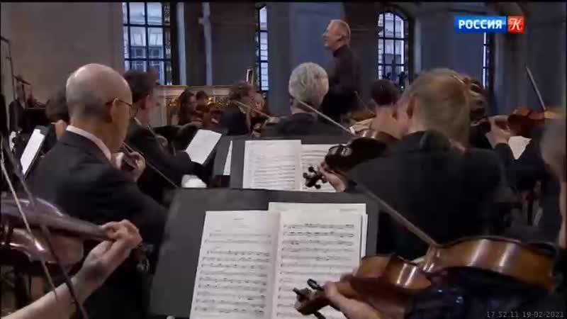 19 02 2021 1745мск SD360 ``Музыка эпохи барокко`` Сэр Джон Элиот Гардинер Хор Монтеверди и Английские барочные солисты 2014г