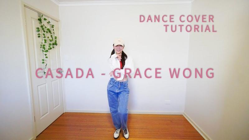 Casada Grace Wong 王君馨 Dance Cover Tutorial Mirror Slow