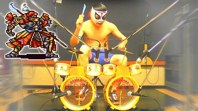 ビッグブリッヂの死闘 ツーバス アンパンマンドラム CLASH ON THE BIG BRIDGE Double Bass Toy Drum Playthrough