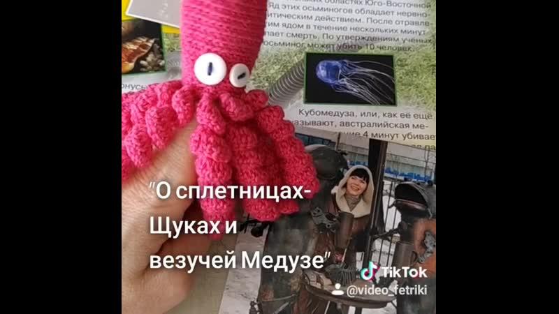О сплетницах щуках и везучей медузе читает Л Пыстина