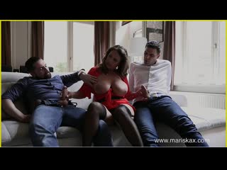 Jadwiga Baginska - Trio With Sexy-Susi - Anal Sex DP Treesome MFM Big Tits Juicy Ass Milf Chubby Boobs Plumper Booty, Porn