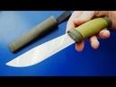 Почему Шведский нож столь легендарен Mora 2000