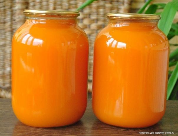 Тыквенный сок с мякотью. Понадобится:2 кг очищенной тыквы200 гр сахарасок двух крупных апельсинов0,5 ч.л. лимонной кислотыДолжна сразу сказать, что все пропорции довольно приблизительные, нужно