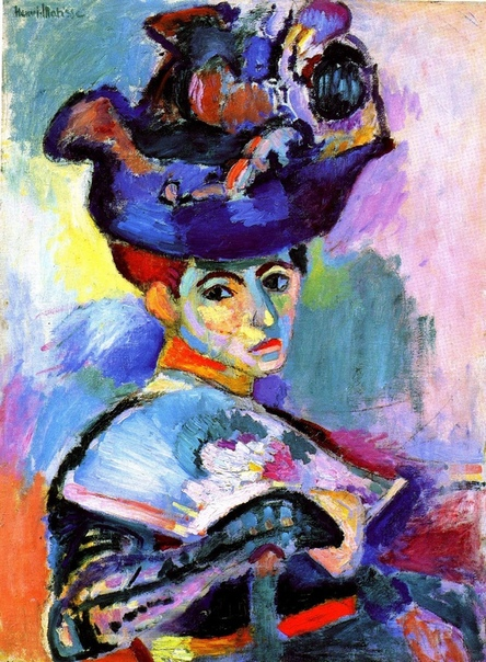 «Женщина в шляпе», Анри Матисс