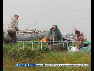 Смерть за любимым делом - рыбак утонул в Выксе