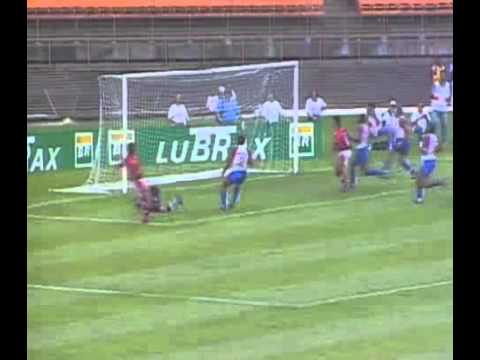 Flamengo 1 x 4 Paraná - Campeonato Brasileiro 1996