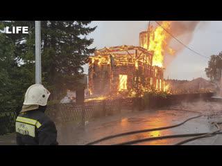Пожары в России  о самых частых причинах возгораний рассказали в МЧС