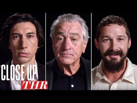 Actors Roundtable Adam Driver Shia LaBeouf Robert De Niro Tom Hanks Jamie Foxx Close Up