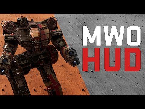 MW5 MOD: MWO HUD, Paper-doll by Navid A1
