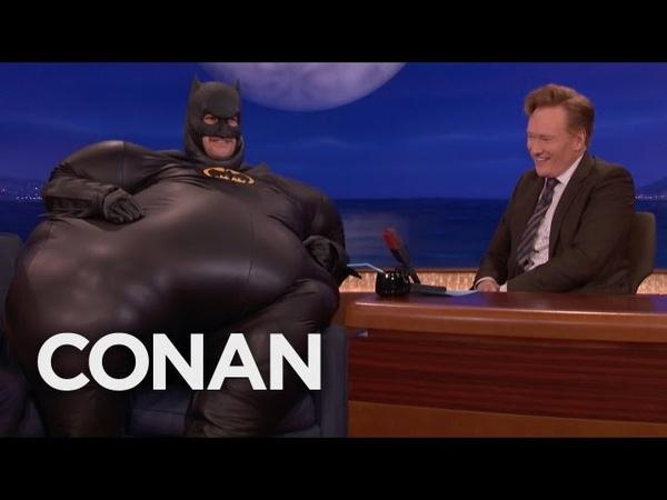 "Why Adam Pally Is Dressed Like ""Fatman - CONAN on TBS"