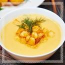 Гороховый крем суп из бизнес-меню всегда заходит нашим посетителям на ура!