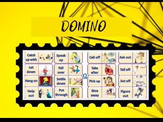3 Игры на отработку фразовых глаголов для заданий 32-38 ЕГЭ