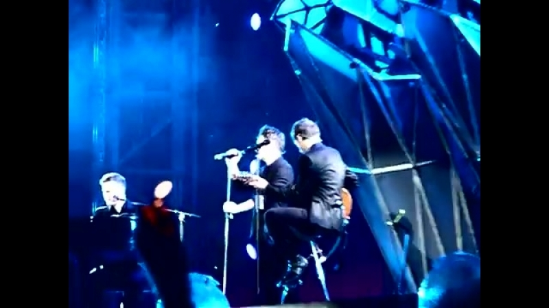 Take That Medley Million Love Songs Babe Everything Changes live Milano San Siro 2011