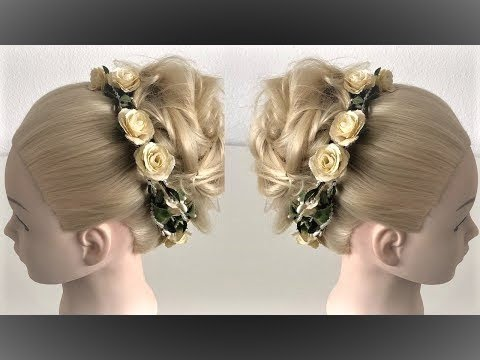 Updo tutorial easy hairstyle for long hair wedding hairstyles