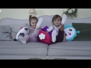игрушки-подушки Малышарики