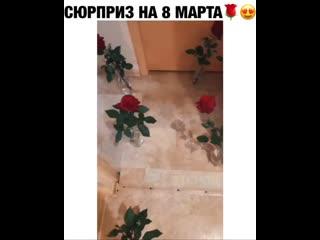 Сколько же там ваз для роз!