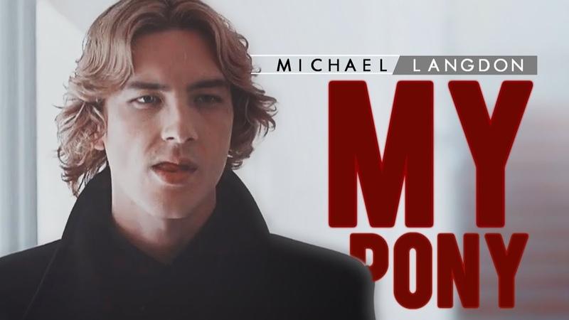 Pony | Michael Langdon (HBD Alyssa!)