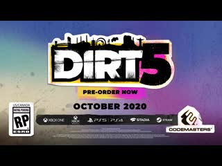 DIRT 5 - Official Announce Trailer - Launching October 2020