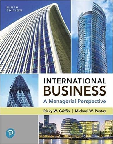 International Business, 9th Edition