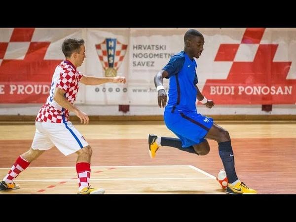 Landry Ngala KB United FUTSAL FRANCE TEAM skills tricks 2019
