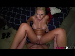 FilthyPOV Vanessa Cage- PLAYING BAD COP GOOD WHORE WITH MOMMY  Filthy POV Family Taboo Sex Cumshot